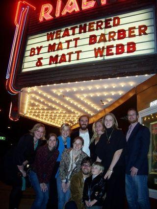 Weathered premiere